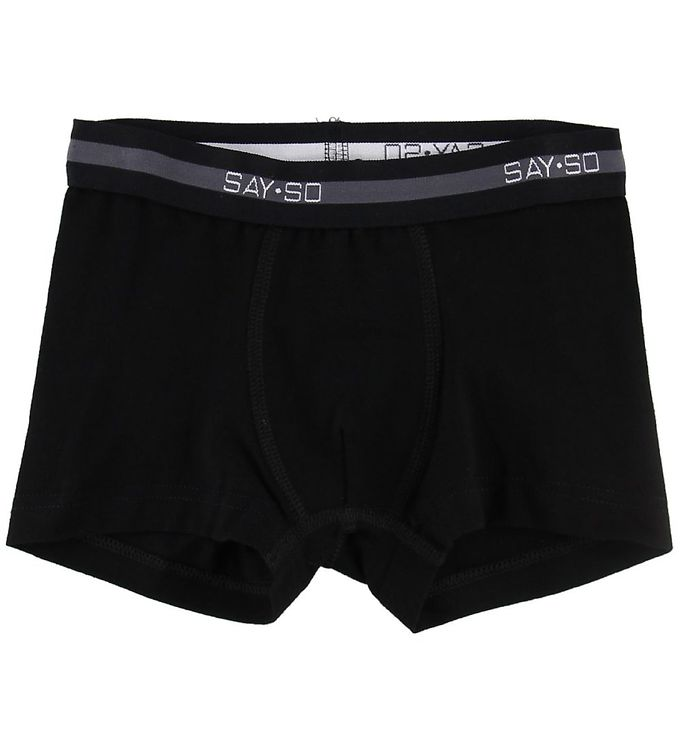 Image of Say-So Boxershorts - Sort (NG430)