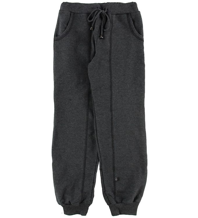 Image of Say-So Sweatpants - Mørkegråmeleret (NG437)