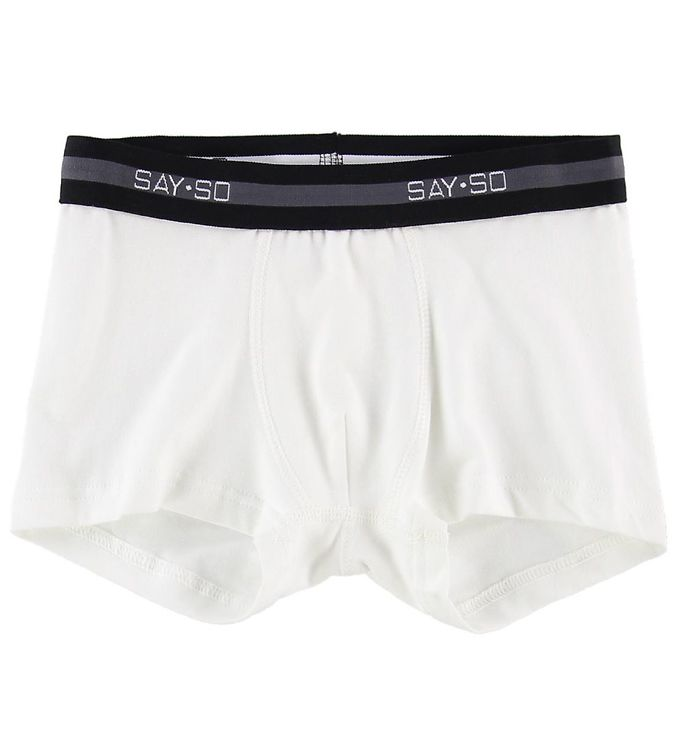 Image of Say-So Boxershorts - Hvid (NG439)