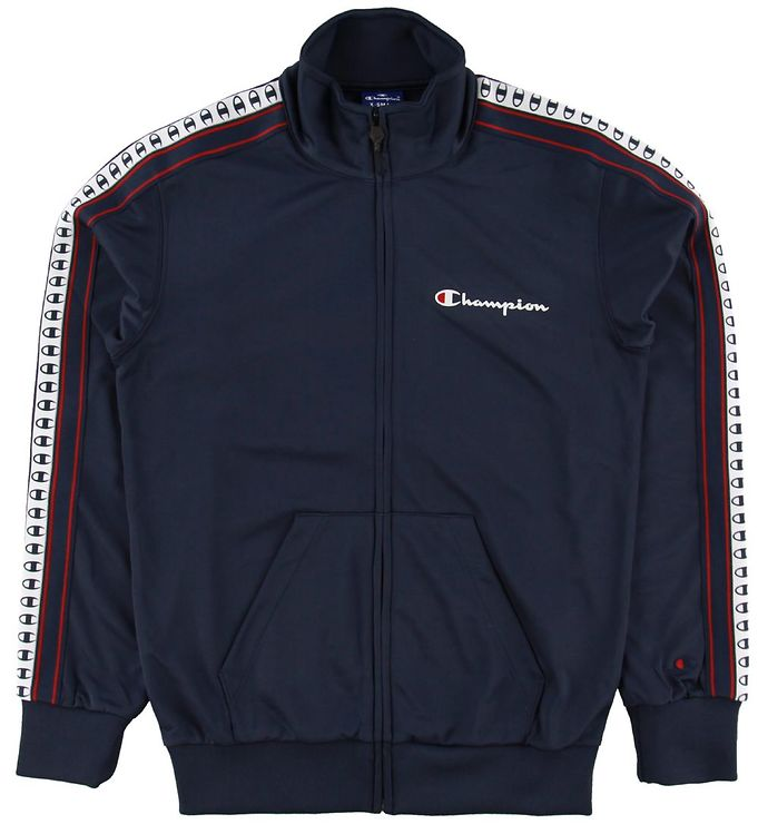 Image of Champion Fashion Cardigan - Navy (NG651)