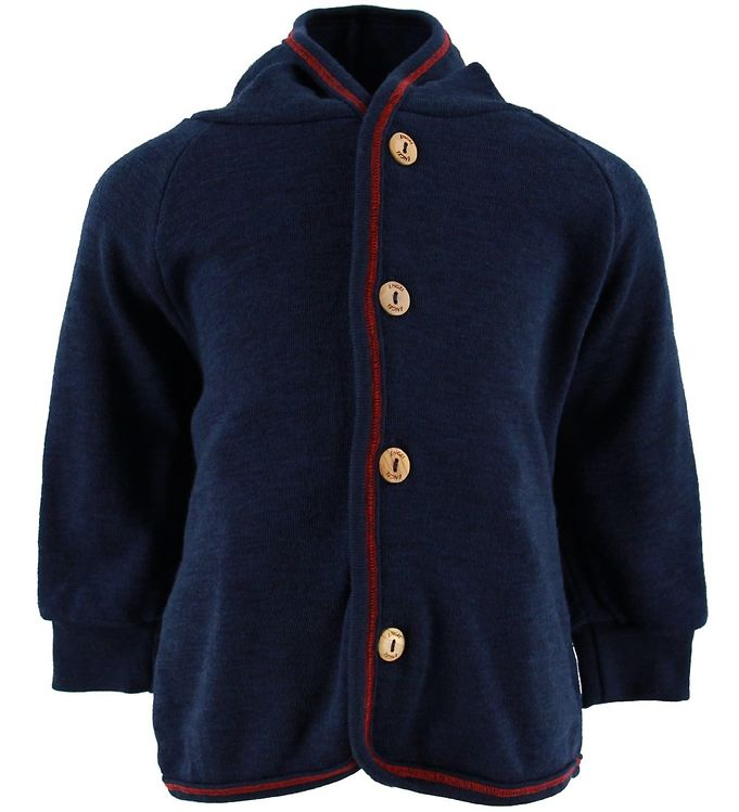 Image of Engel Cardigan - Uld - Navy (NH011)