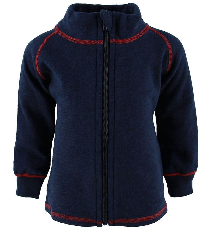 Engel Cardigan - Uld - Navy