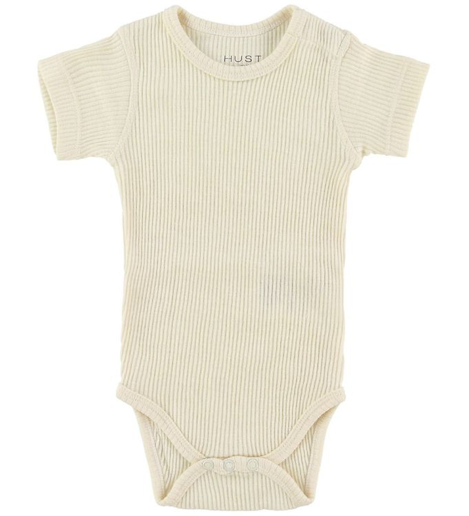 Image of Hust and Claire Body k/æ - Uld/Bambus - Off White (NH446)