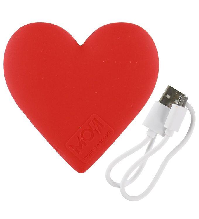 Image of Moji Power Powerbank - Heart - 2600 mAh (NH473)