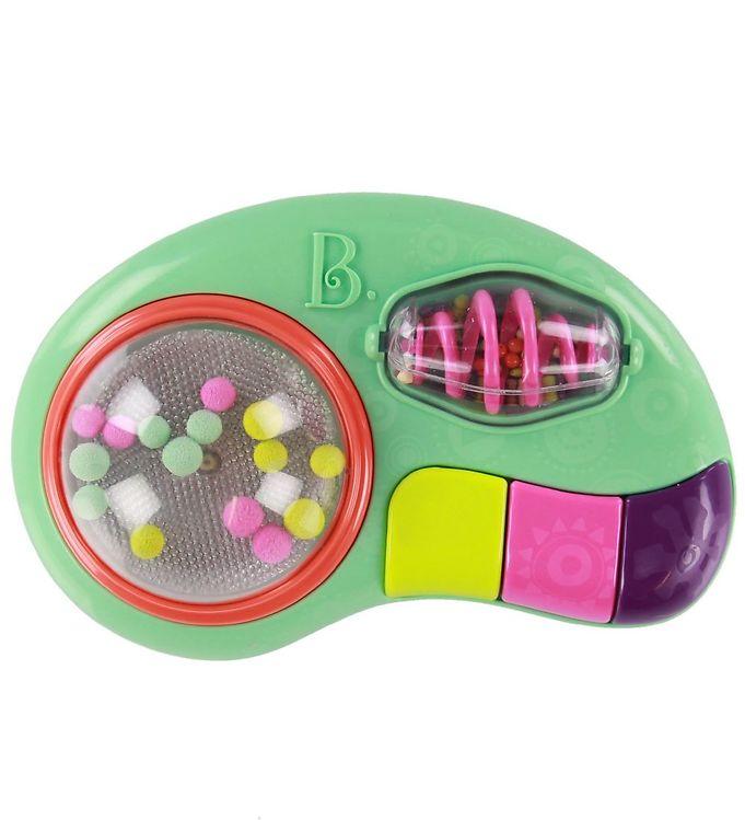 Image of B. toys Aktivitetslegetøj m. Lys - Whirly Pop - Multifarvet (NH595)