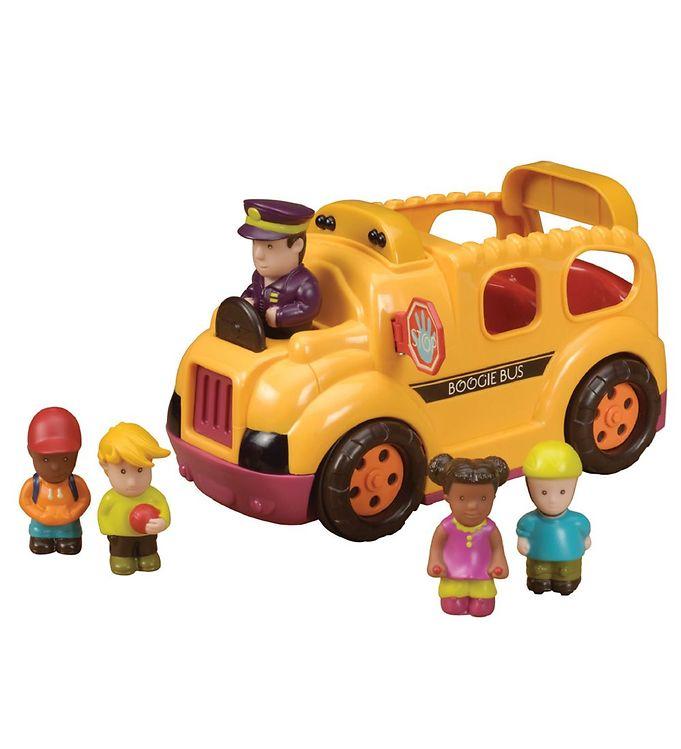 Image of B. toys Skolebus - Gul m. Lyd & Bevægelser (NH601)