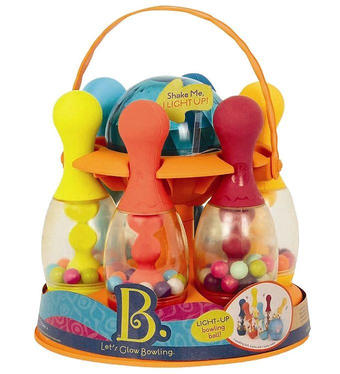 Image of B. toys Bowlingspil - Let´s Glow Bowling - Multifarvet (NH604)