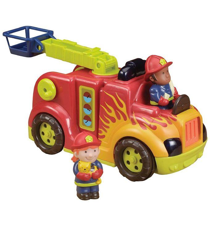 Image of B. toys Brandbil m. Lyd & Bevægelser - Rød (NH607)