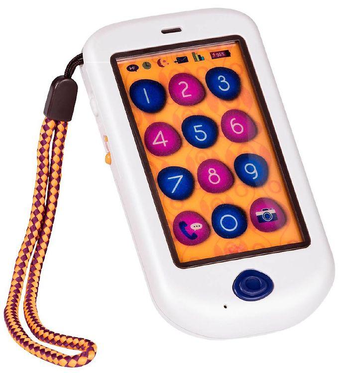 Image of B. toys Telefon - Legetøj - Hi Phone - Hvid (NH613)