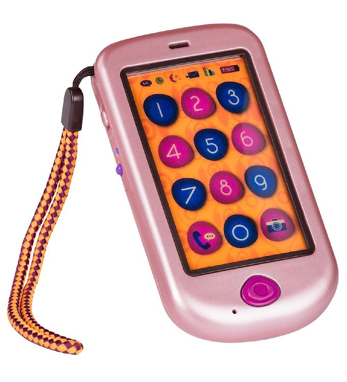 Image of B Telefon - Legetøj - Hi Phone - Rosa Guld (NH614)