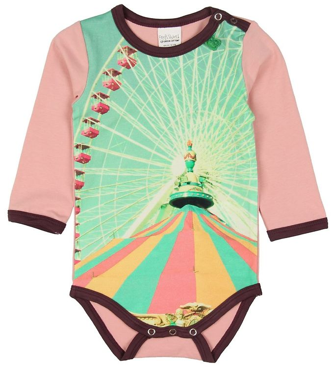Image of Freds World Body l/s - Fairy Rose (NH645)