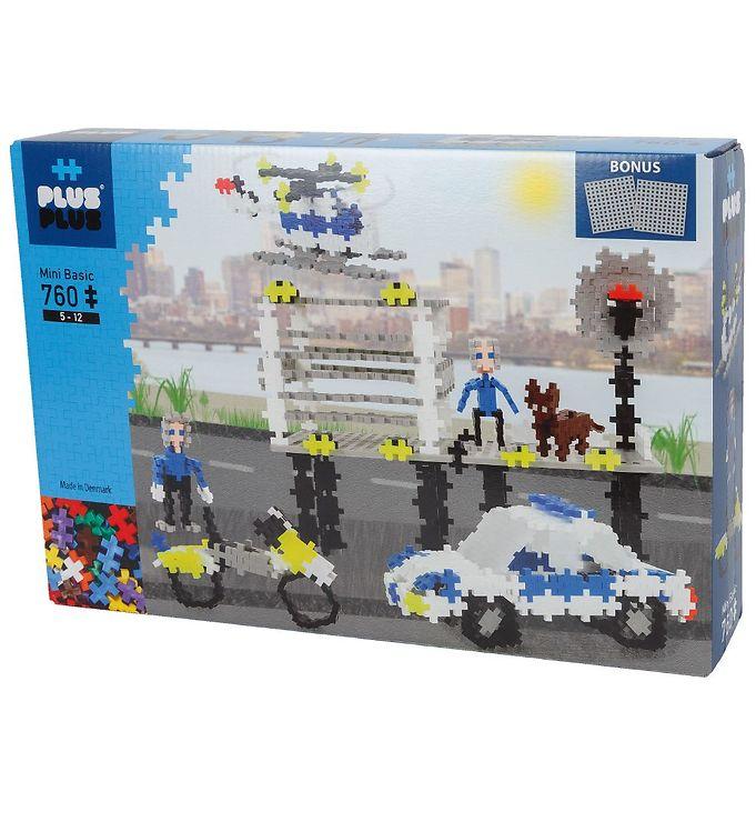 Image of Plus-Plus Mini - 760stk - Basic - Police (NH972)