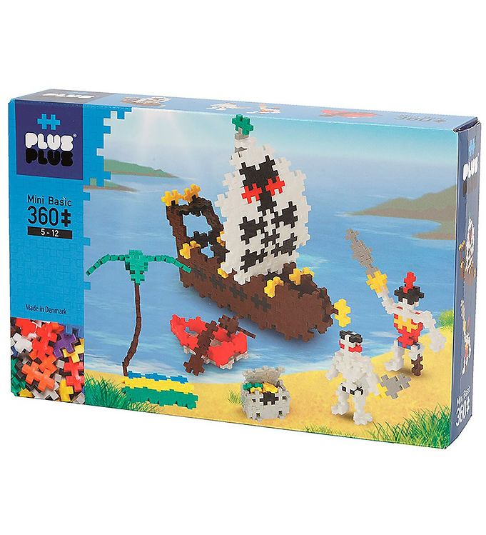 Image of Plus-Plus Mini - 360stk - Basic - Pirates (NI008)