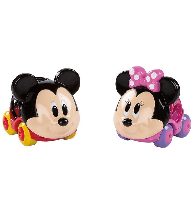 Image of Oball Go Grippers Mickey & Minnie Mouse Biler - Multifarvet (NI102)