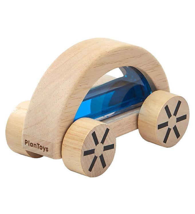 PlanToys Træbil - Natur/Blå - 13 - PlanToys,PlanToys Babylegetøj,PlanToys Legetøj,PlanToys Trælegetøj - PlanToys