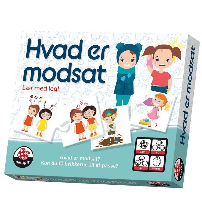 Image of Danspil Læringsspil - Hvad er Modsat (NI181)