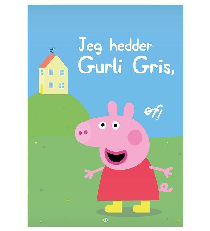 Image of Citatplakat Plakat - 50x70 - Jeg Hedder Gurli Gris (NI465)