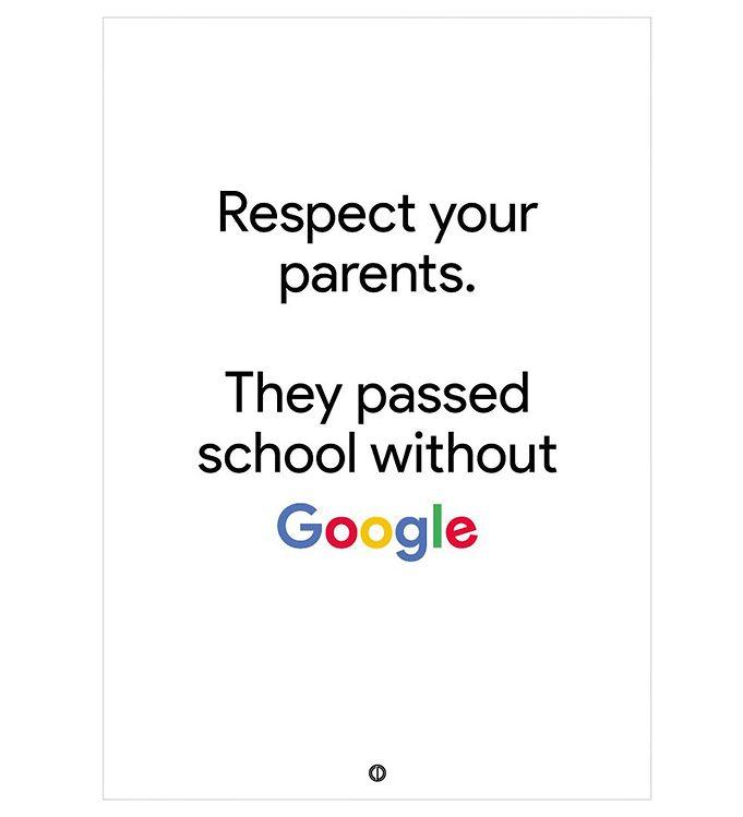Image of Citatplakat Plakat - 50x70 - Google (NI469)
