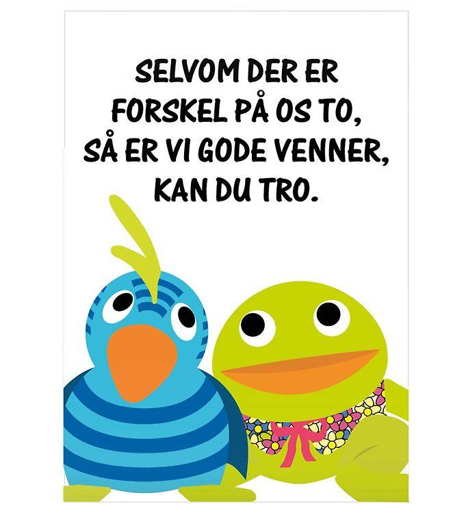 Image of Citatplakat Plakat - 50x70 - Gode Venner (NI477)