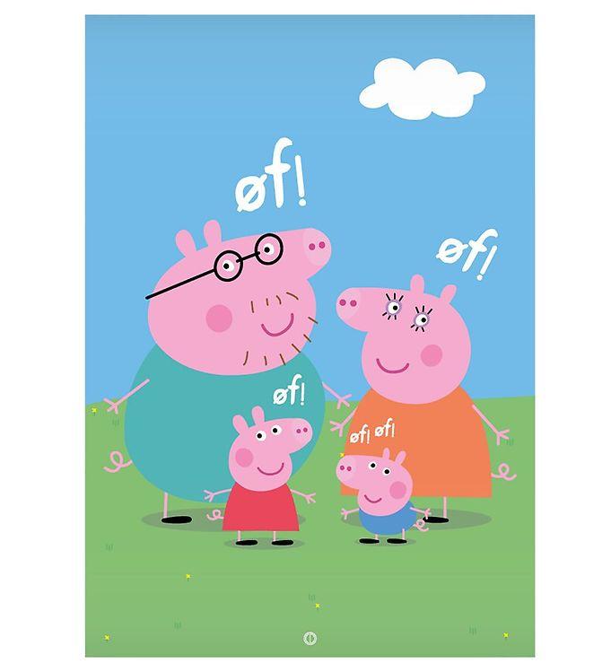 Image of Citatplakat Plakat - A3 - Familien Gris (NI485)