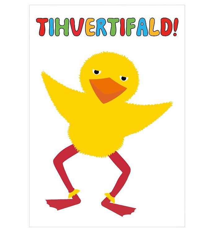 Image of Citatplakat Plakat - A3 - Kylling - Tihvertifald (NI489)
