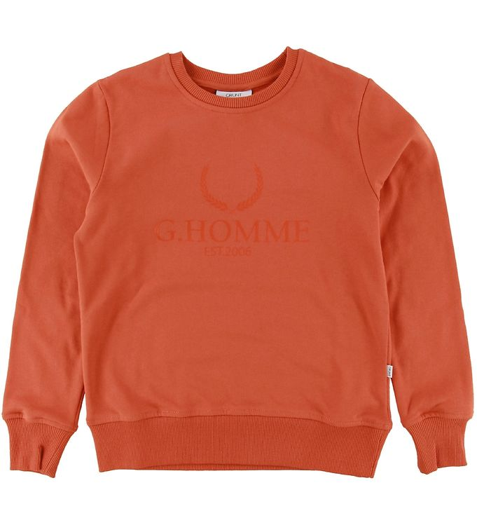 Image of Grunt Sweatshirt - Nuud Sweat - Orange (NI537)