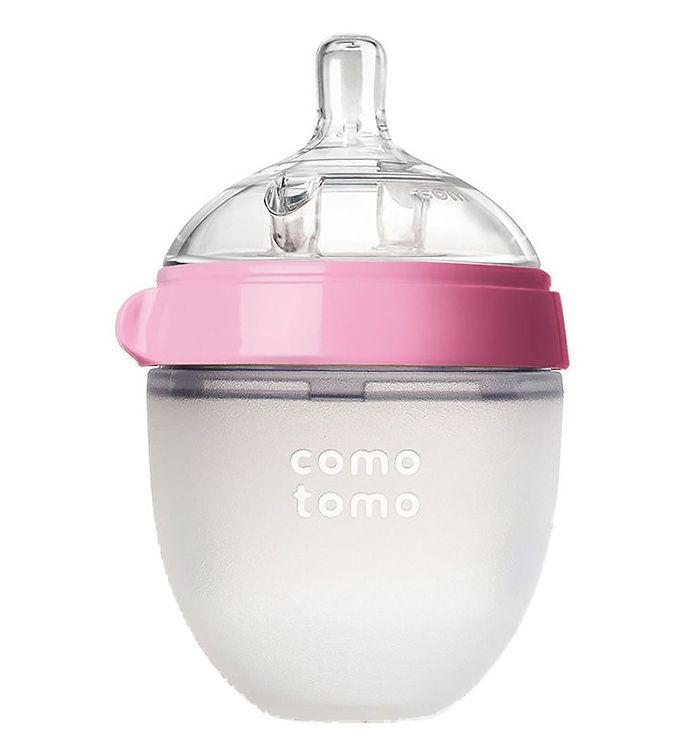 Image of Comotomo Sutteflaske - 150ml - Natural Feel - Rosa (NI642)