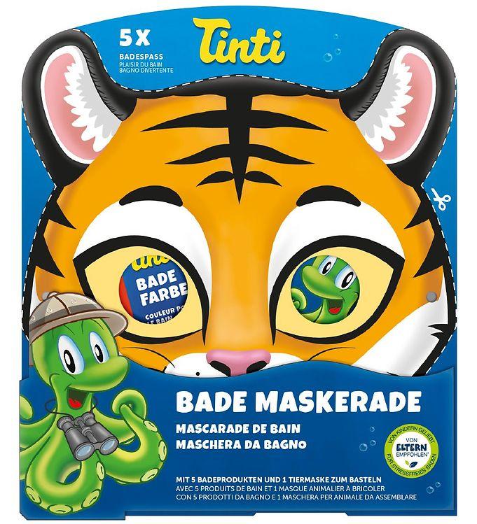 Image of Tinti Maske & Badetilbehør - Tiger (NI690)