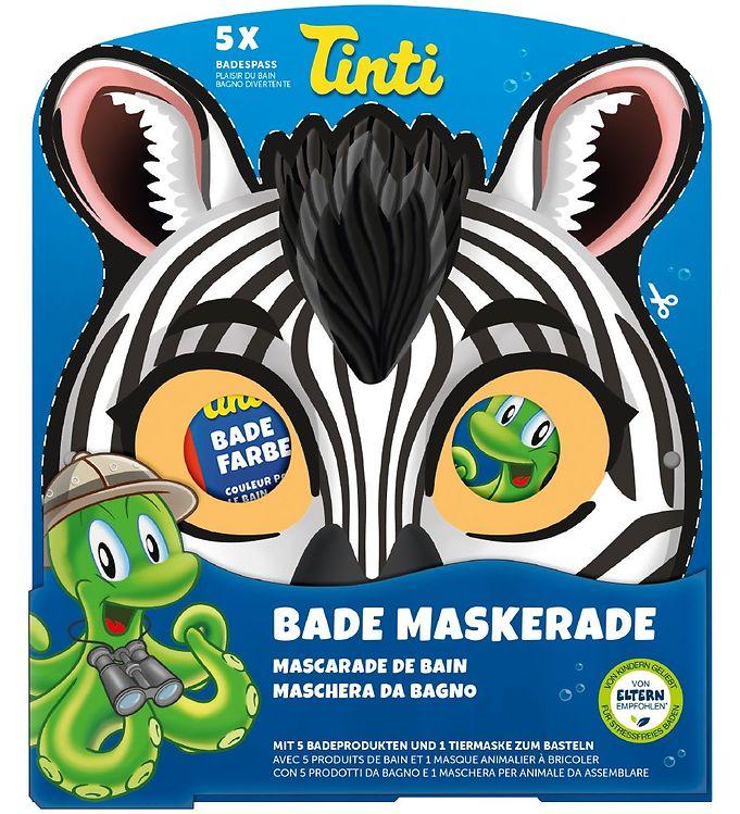 Image of Tinti Maske & Badetilbehør - Zebra (NI691)
