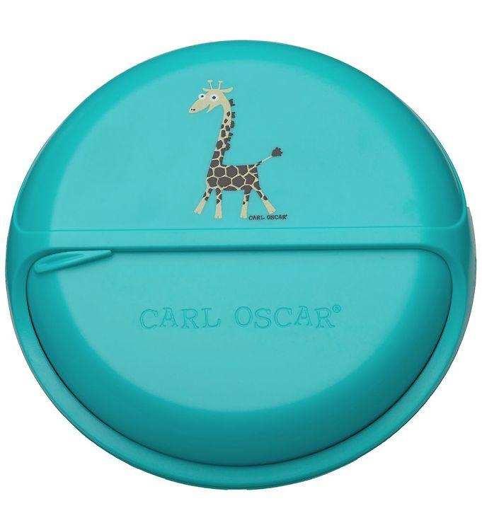 Image of Carl Oscar Snackbox - Turquoise Giraffe (NI816)