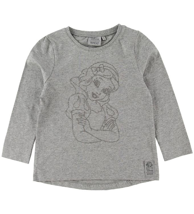 Image of Wheat Disney Bluse - Snow White - Melange Grey (NI865)