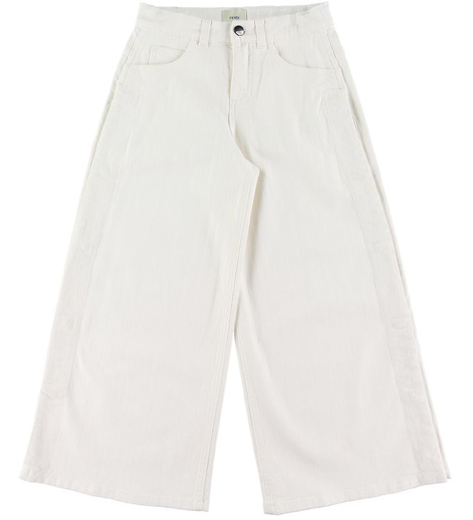 Image of Fendi Jeans - 3/4 - Hvid (NJ102)