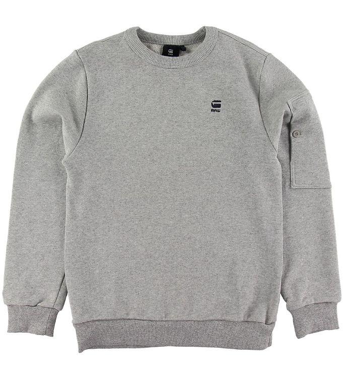 Image of G-Star RAW Sweatshirt - Stalt - Industrial Grey (NK147)
