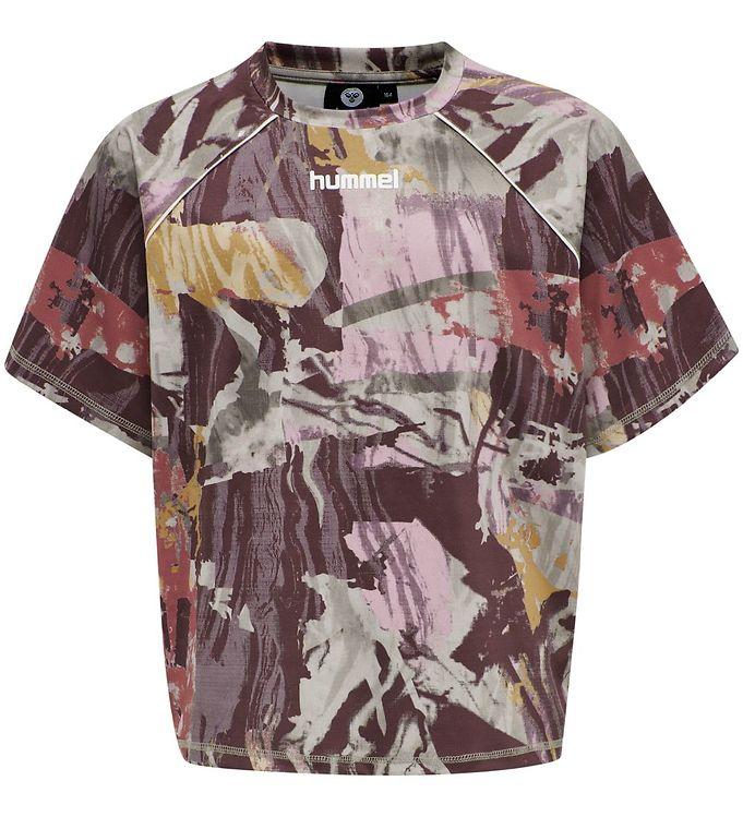 Image of Hummel Teens T-shirt - HMLPlena - Multifarvet (NK542)