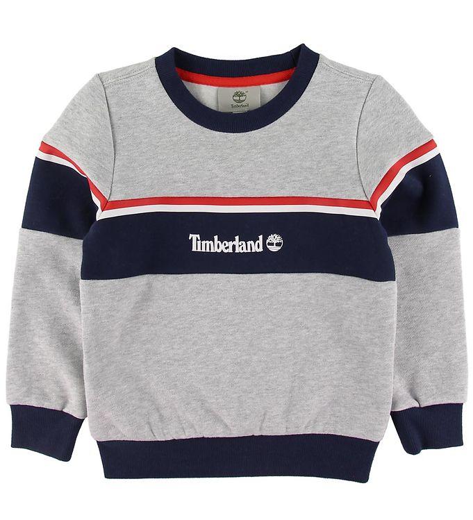Timberland Sweatshirt - Gråmeleret m. Navy