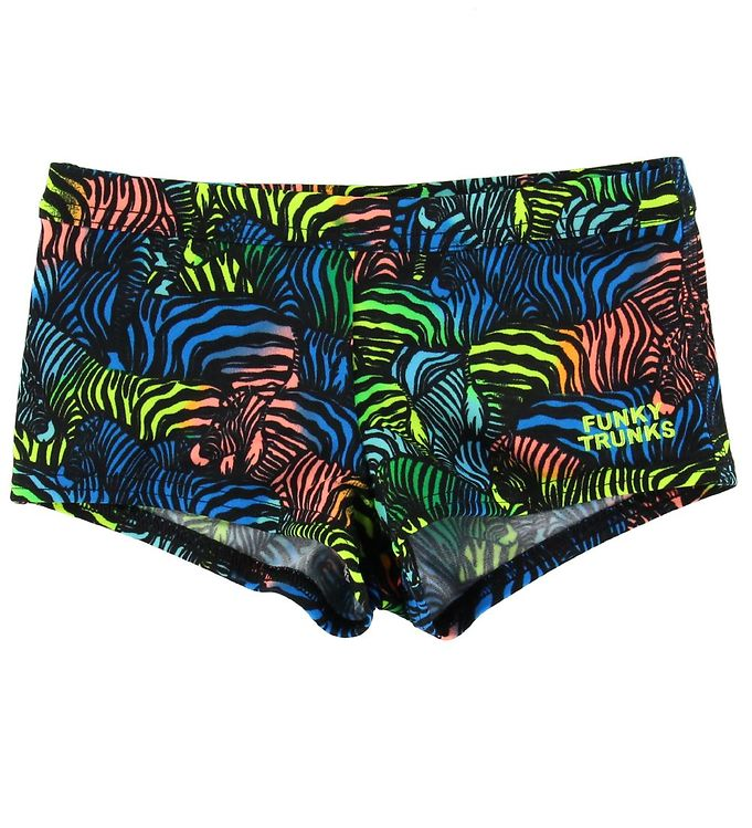 Funkita Funkita Badebukser - Eco Square Trunks - UV50+ - Colour Run