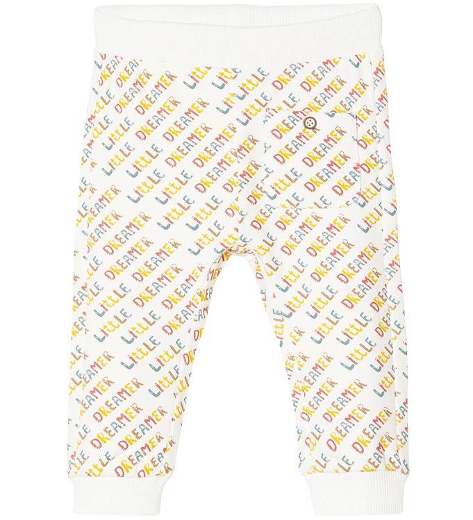 Name It Sweatpants - NbnUxolo - Snow White