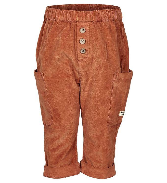 Image of En Fant Fløjlsbukser - Leather Brown (NL369)
