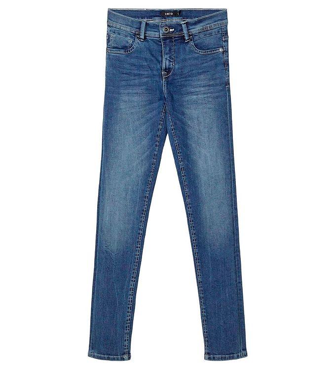 Image of LMTD Jeans - NOOS - NlfPilou - Blå (NL746)