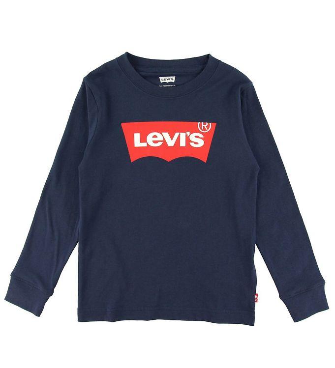 Image of Levis Bluse - Batwing - Dress Blues m. Logo (NM050)