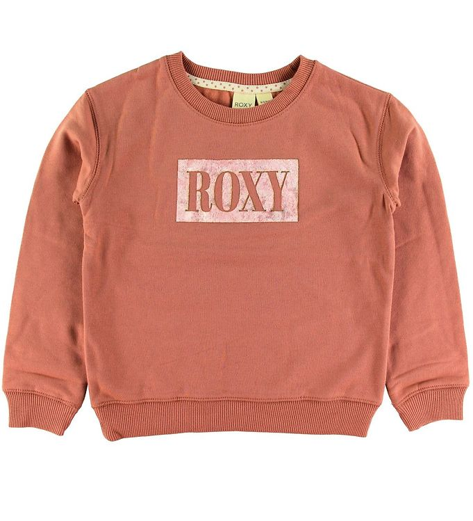Image of Roxy Sweatshirt - Rosa m. Logo (NM064)