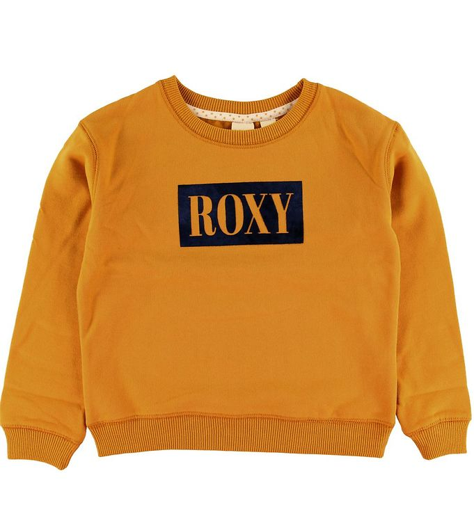 Image of Roxy Sweatshirt - Gul m. Logo (NM065)