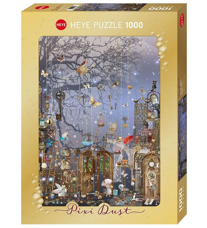 Image of Heye Puzzle Puslespil - 1000 brikker - Pixie Dust - Magic Keys (NM326)