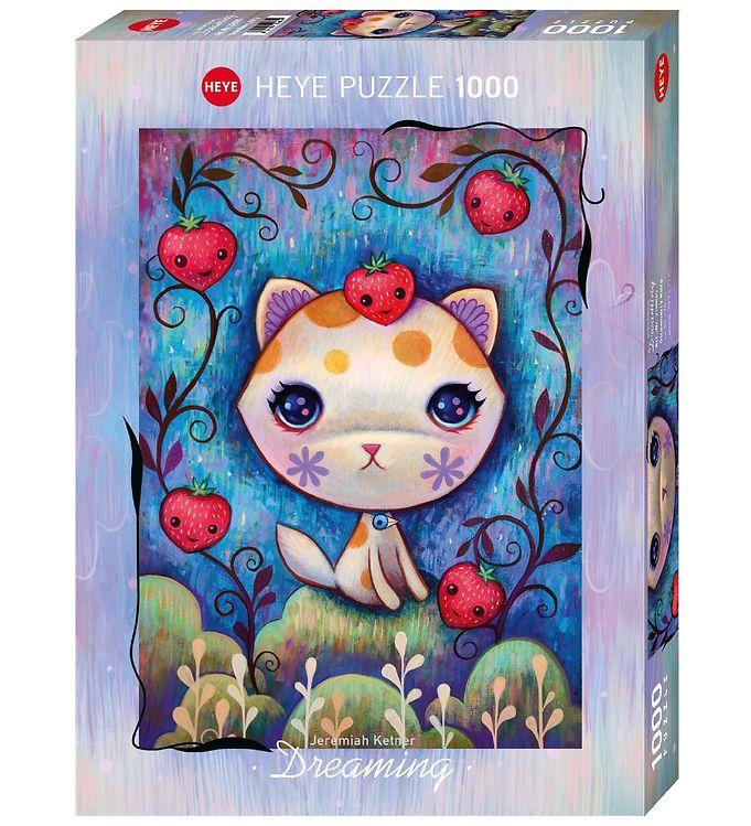 Image of Heye Puzzle Puslespil - 1000 Brikker - Dreaming - Strawberry Kit (NM327)