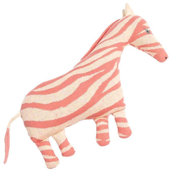 Image of Smallstuff Bamse - 40 cm - Zebra - Bubblegum (NM437)
