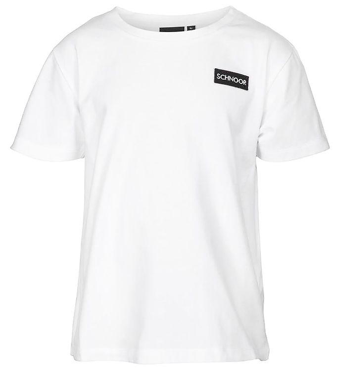 Image of Schnoor T-shirt - Oliver - Hvid (NM441)
