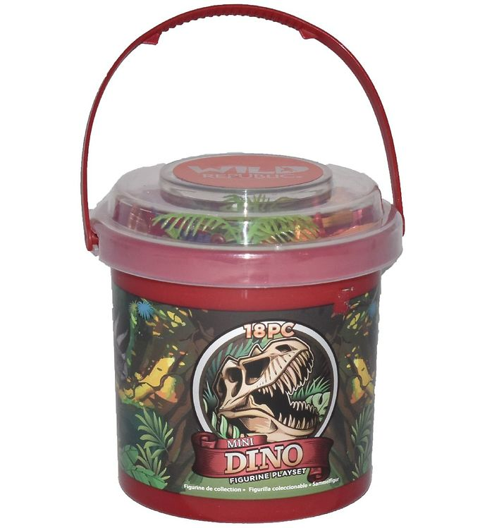 Image of Wild Republic Spand m. Dyr - Mini - 18 stk. - Dinosaurer (NM582)