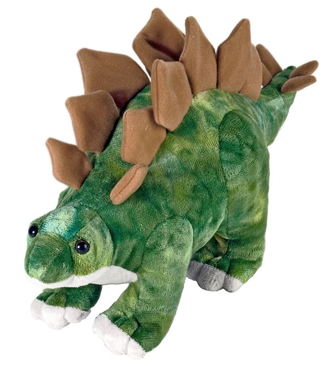 Image of Wild Republic Bamse - 27x16 cm - Mini Stegosaurus (NM666)