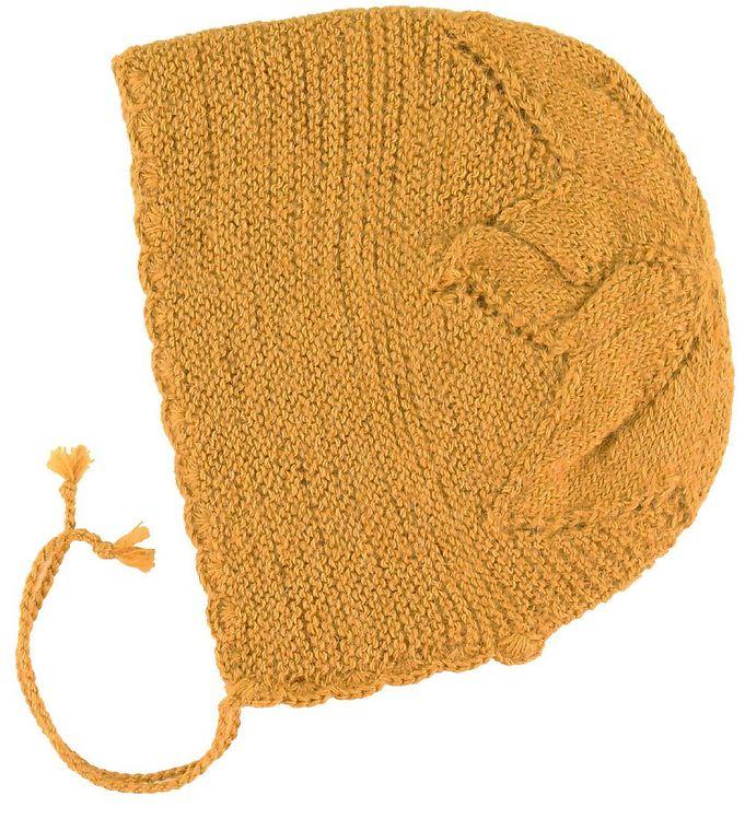 Image of Huttelihut Hjelm - Alpakauld - Mustard (NM923)