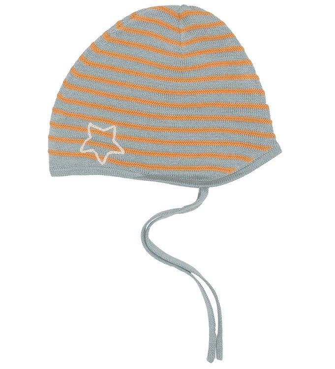 Image of Mini A Ture Babyhjelm - Strik - Urs - Slate Blue (NN075)